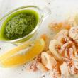 Калмари пане / Crumbled calamari